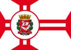 Bandeira da cidade de São Paulo - SP